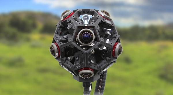 3d printed camera housing for 360 camera