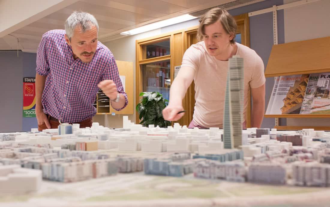 Björn Fröding på Malmö stadsbyggnadskontor