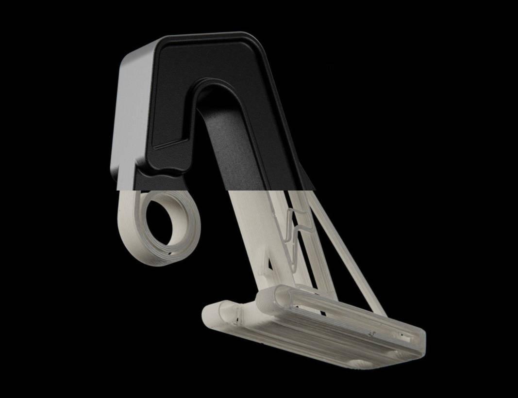 Onyx and carbon fiber reinforcement