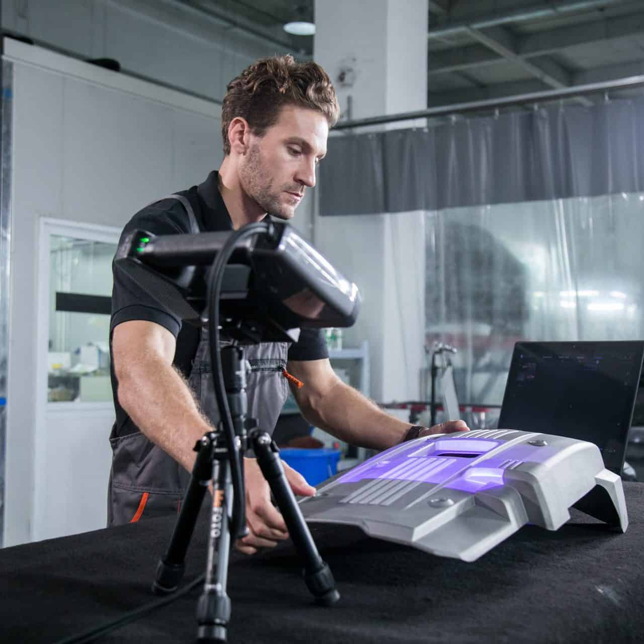 shining3d scanner