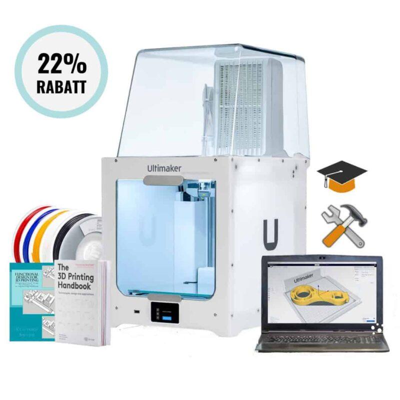 3D-skrivarpaket för skola