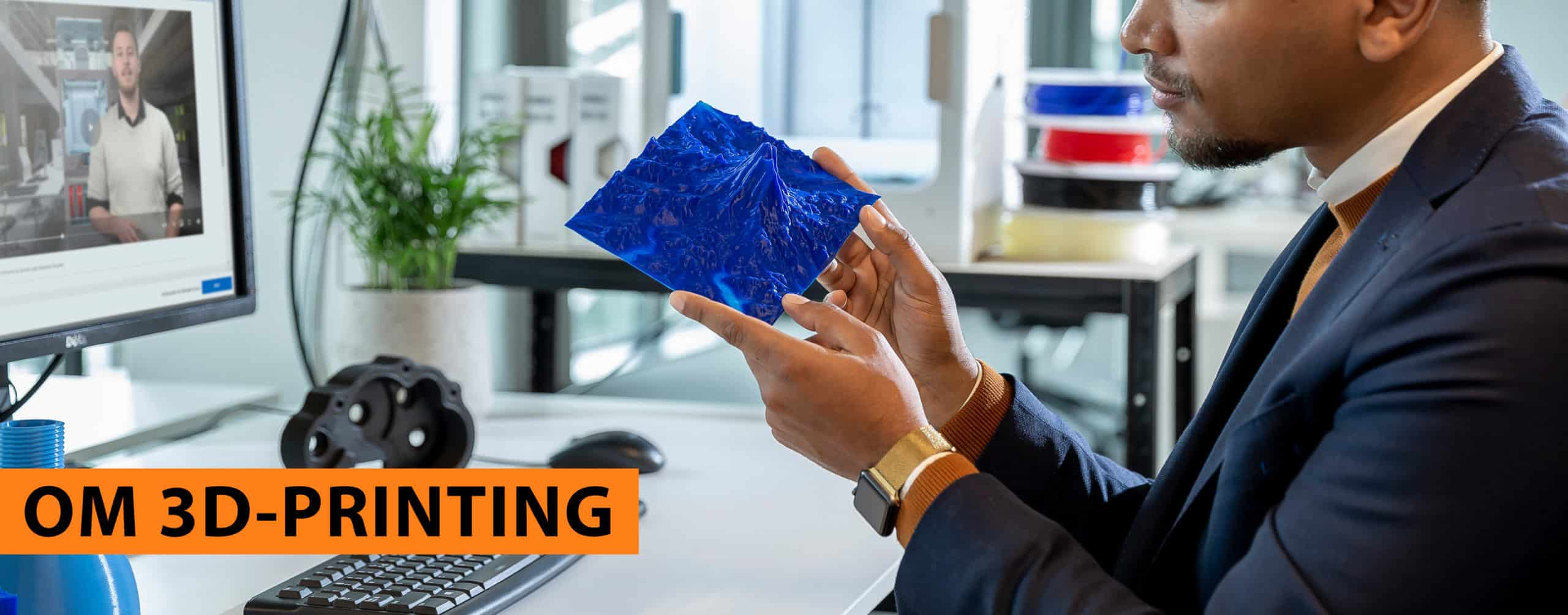 3D-print av vulkan. rubrik: om 3D-printing