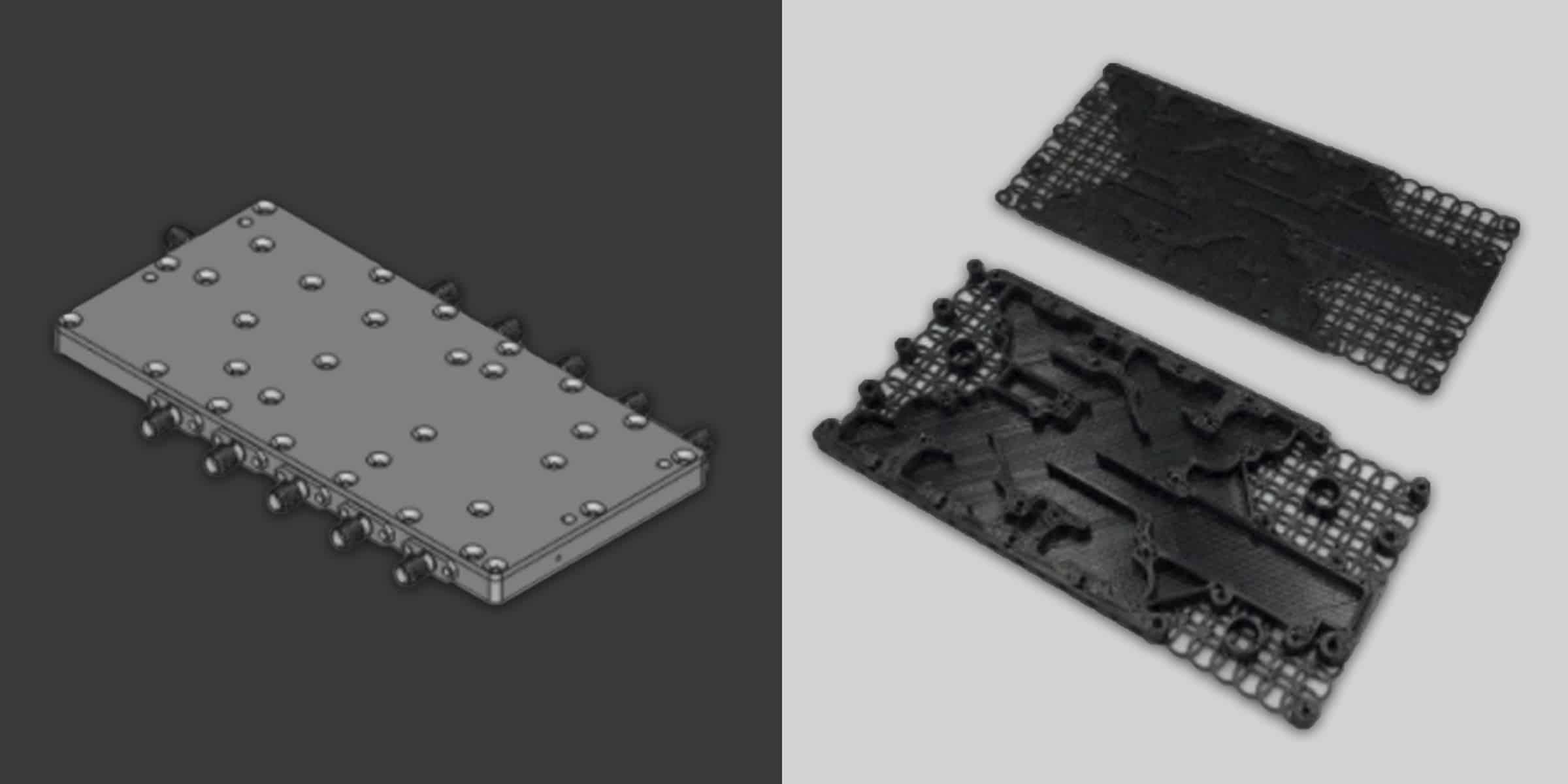 3D-printat hölje till strömreläer